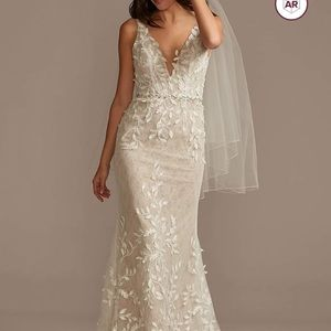 NWT Melissa sweet wedding dress/ David's bridal